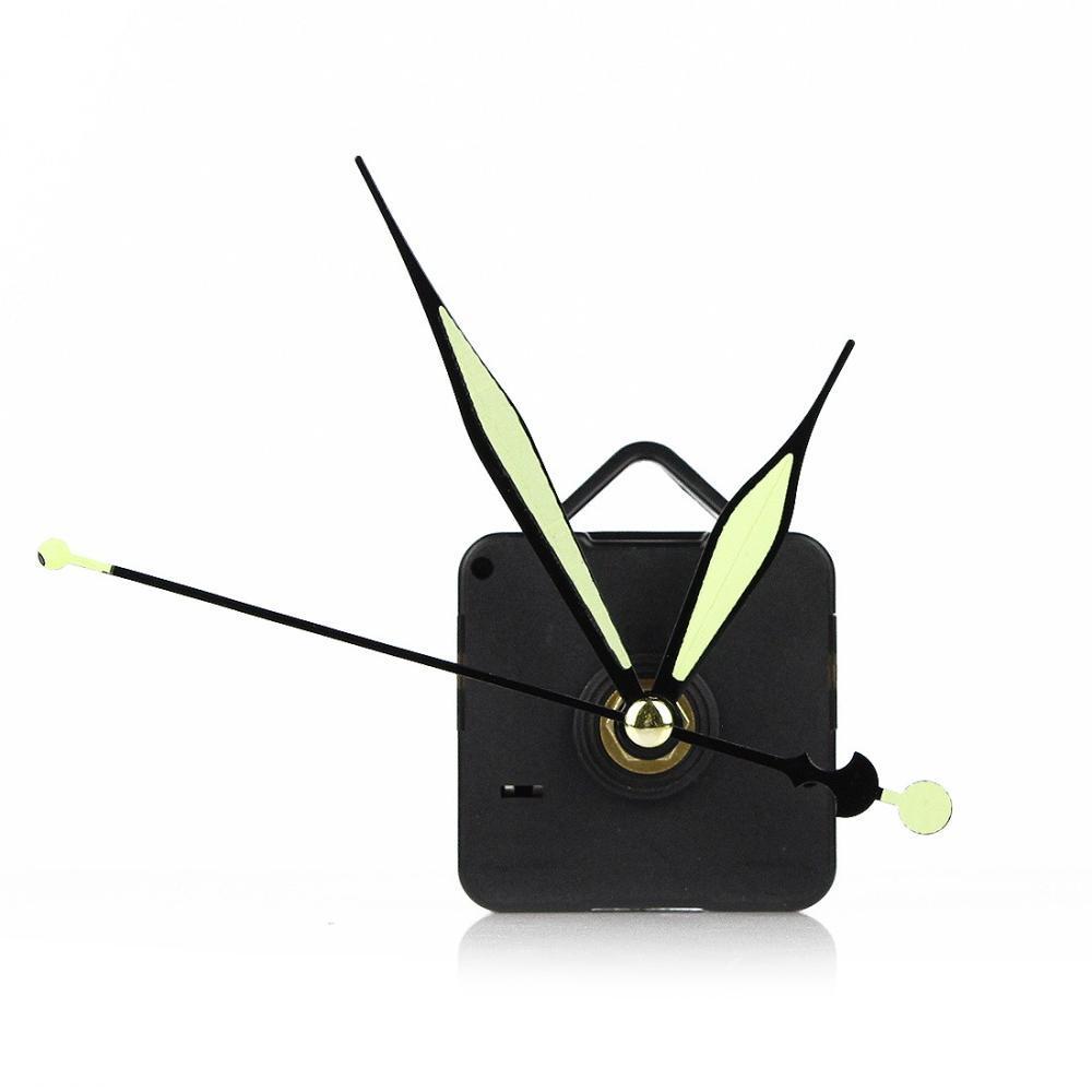 Black Quartz Wall Clock Movement Mechanism Repair Diy Clock Tool
