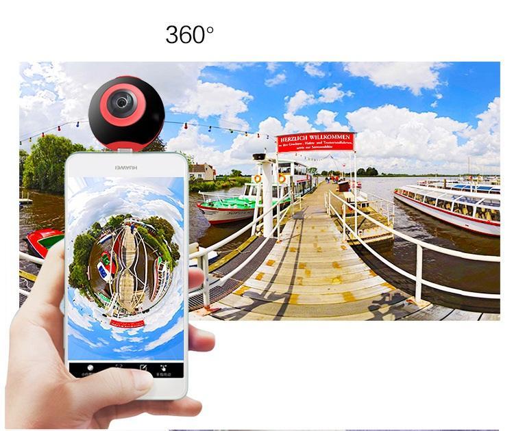 Mini 360 Degree Panorama VR Camera HD Sport DV 720°Dual Fish Eye Lens For Type-c Micro usb Android Smartphone Pano S1