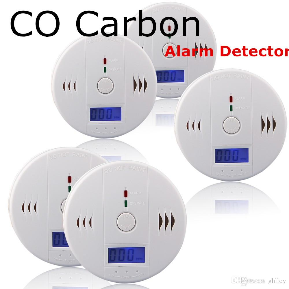 Helpful High Quality Home Safe 2-in-1 Carbon Monoxide And Gas Sensor Poisoning Detector Natural Gas Alarm Moderate Price Security & Protection