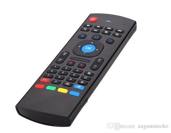 Горячие продажи U1 клавиатура Fly AirMouse мини беспроводной пульт дистанционного G зондирования Гироскоп Датчик MIC Combo MX3 для MXQ M8S Amlogic S905 STB Android TV BOX