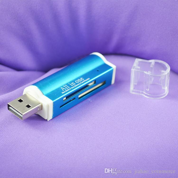Alles in einem USB 2.0 Multi-Speicherkartenleser für Micro SD / TF M2 MMC SDHC MS Memory Stick