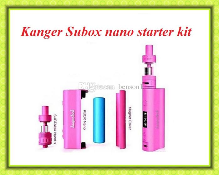 hot sell!!Subox Nano kit Kanger Powerful Subox Nano VS Topbox Mini subox mini kit subvod kit