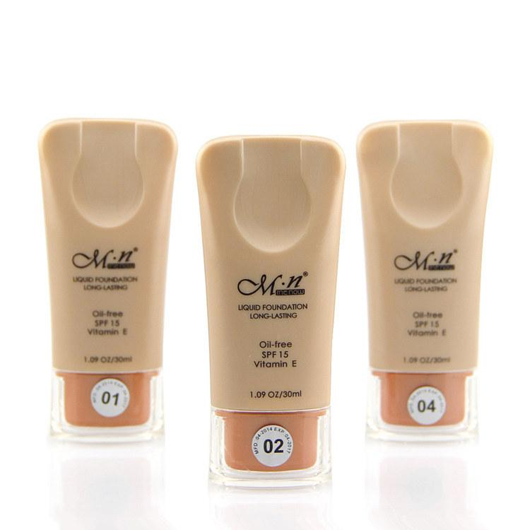 191ca3eaa64c Hot 3 Colours Makeup Face Base 30Ml MN Liquid Foundation Multiple-effect  Whitening Long Lasting Waterproof Base Liqiud Brand order<$18no tra
