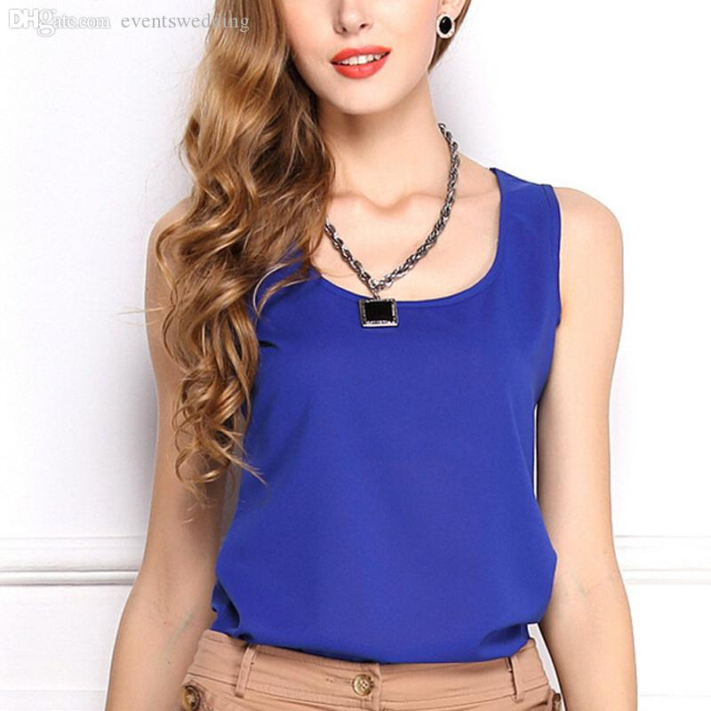 19fc9f62b37 Wholesale-WHATWEARS Summer New 6 Size Women Clothing Fashion Chiffon ...