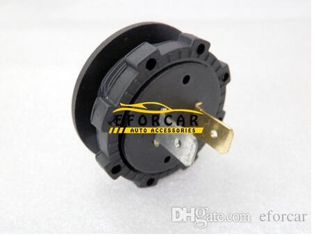 Misuratore di volt auto misuratore voltmetro DC 12V-24V moto LED display digitale voltmetro misuratore di tensione pannello tondo