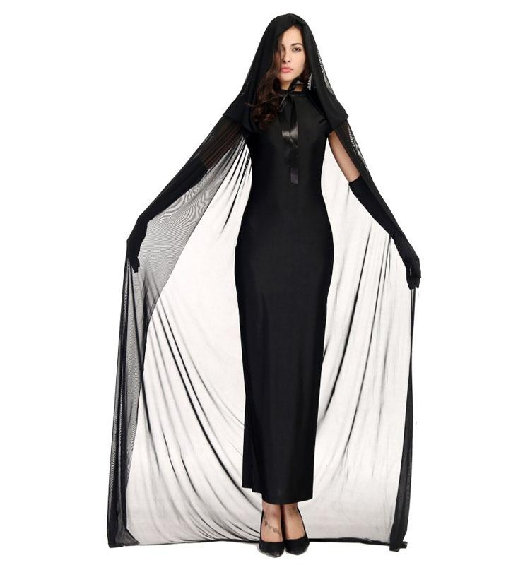 adult halloween costume witch costume party costume for women scary clothing including dressglovescape girl band costumes office group halloween costumes - Halloween Costumes With A Cape