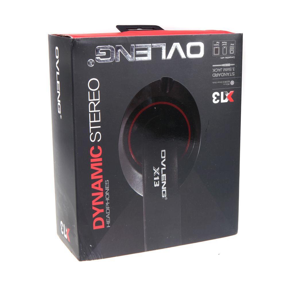 OVLENG X13 Stéréo Casque Casque Écouteur avec Microphone Câble Contrôleur pour iPhone iPod Samsung MPOrdinateur Portable Skype