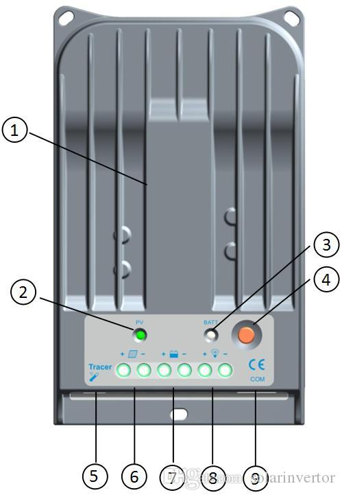 Трейсер 1215bn Макс PV Вход 150 в MPPT солнечной энергии контроллер заряда 10A 12V 24V авто работа