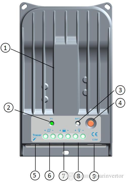 Алюминиевый Корпус Макс PV Вход 150 В Заряд Батареи Авто Работа 12 В 24 В 10A MPPT Солнечный Регулятор
