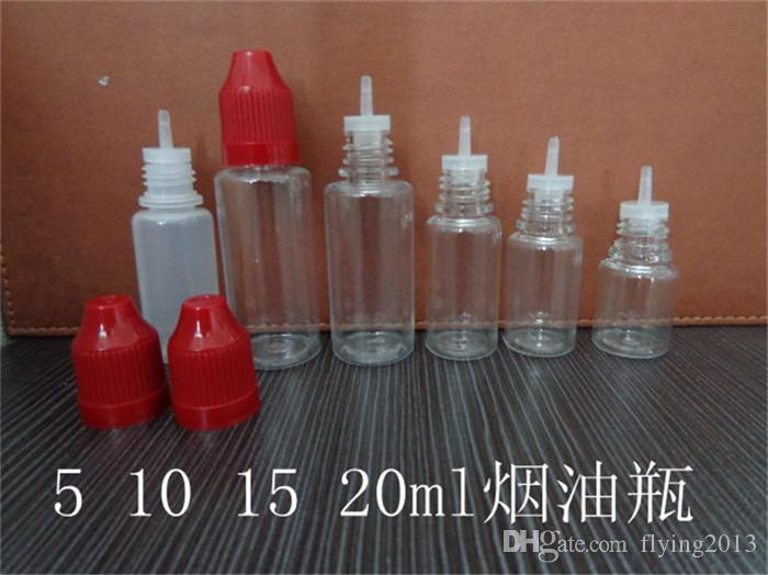 50ml Plastik e Flüssigkeitsflasche, 50ml Augentropfenflasche, 50ml E-Flüssigkeits-Tropfflaschen mit langer und dünner Tropfspitze kostenloser, schneller Versand