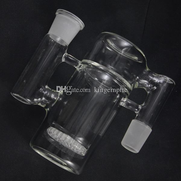 Сотовый диск стекла Ashcatcher стекла Бонг 18,8 мм совместных размер стекла водопровод хорошая диффузия стекла перколятор мини нефтяной вышки хиты гладкой