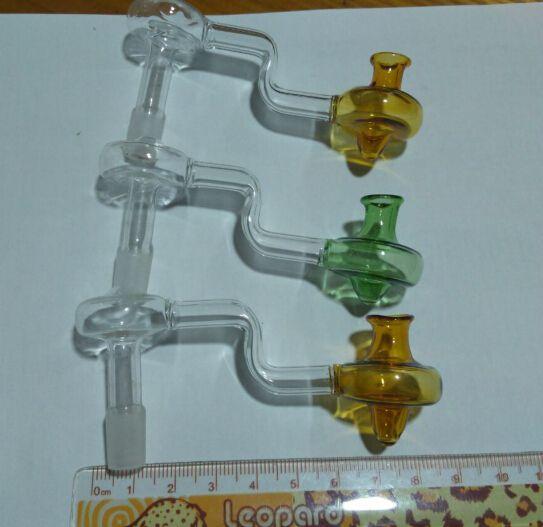 Цветная грибовидная головка бесплатная доставка Оптовая кальян аксессуары-завод прямые стеклянные ремесленные кальян аксессуары, большие лучше