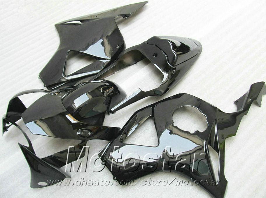 Injection molding 7 gifts + Fit for Honda cbr900rr fairings 954 02 03 CBR954RR all glossy black fairing kit CBR900 RR 2002 2003 YR50