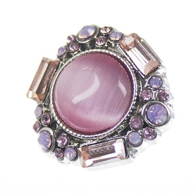 NSB2228 Hot Sale Crystal Snap Jewelry Snap Buttons For Snap Buttons Jewellry Fashion DIY Charms High Quality Metal Snaps