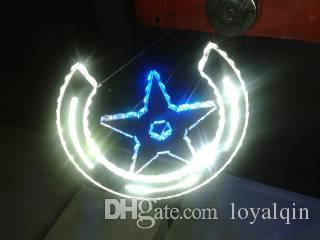 Moderna lampada a sospensione con luce a sospensione in cristallo RGB colorata a LED, lucentezza, luce a sospensione interni