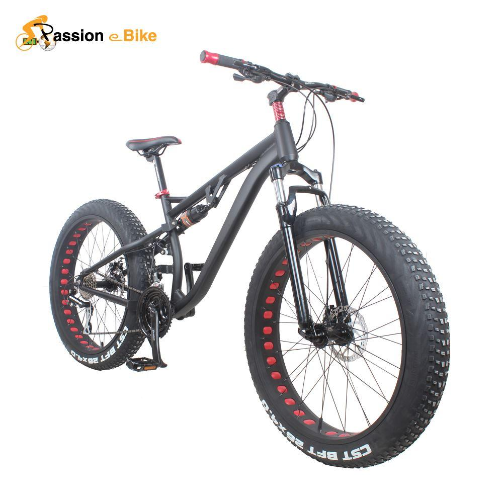 Passion Ebike 24 Speed Aluminum Alloy Full Shockingproof Fat Bike