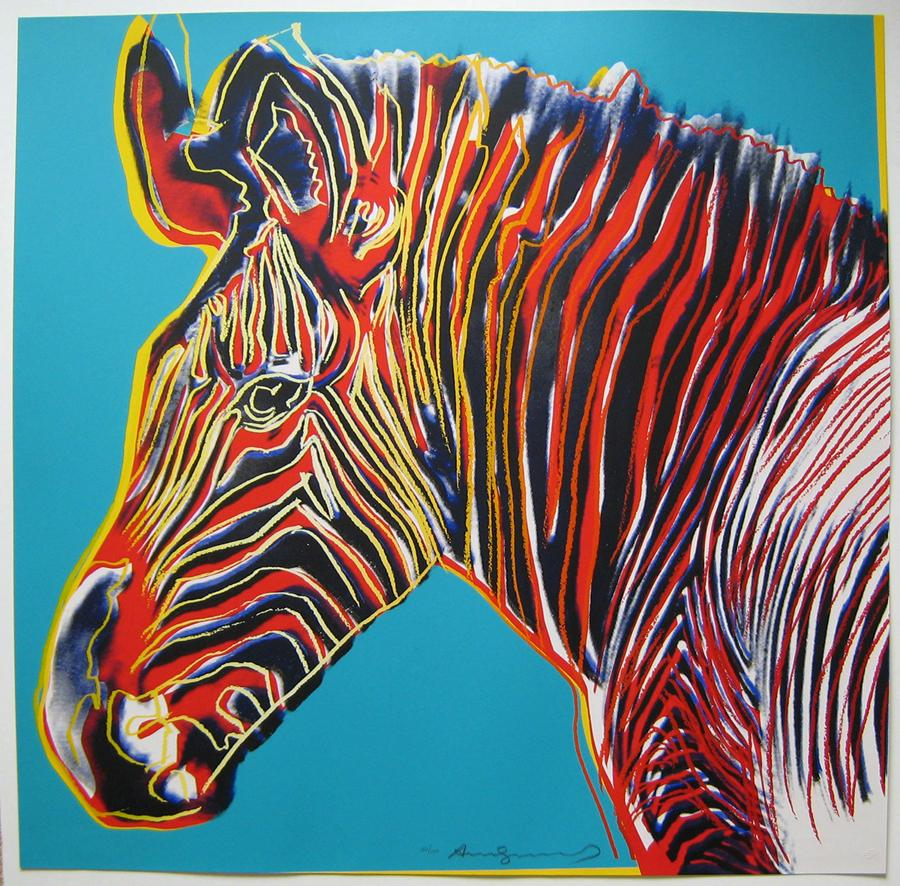 Image result for zebra pop art