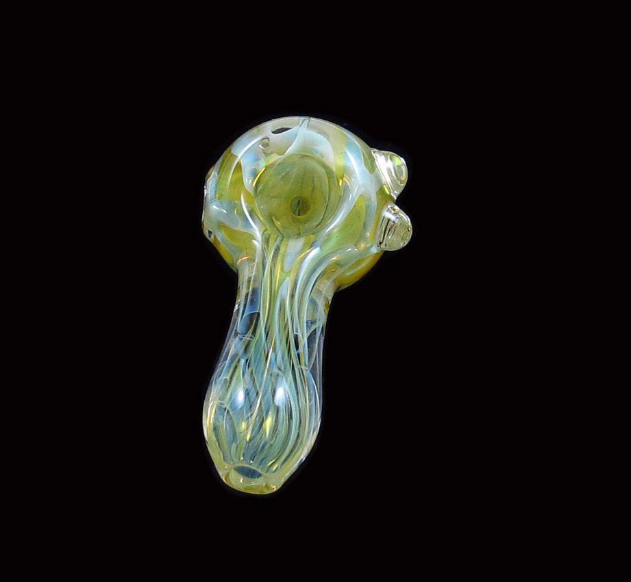WSC-1020 cachimbos de vidro colher tubo de mão tubo de mão 75 MM