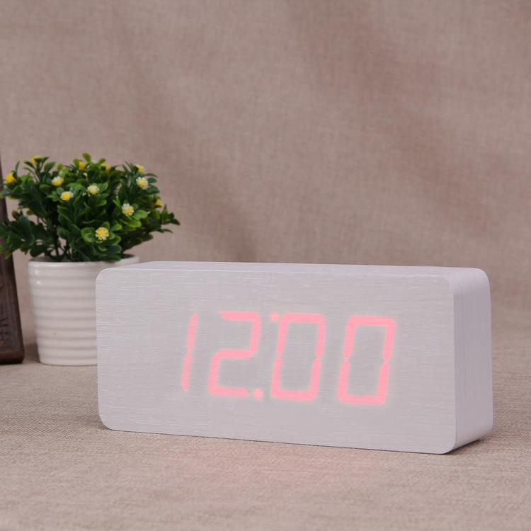 Großhandel Holz Uhr Factory Outlets Led Großbild Nz Digitalanzeige Uhr  Elektronische Uhr Mode Wohnzimmer Schlafzimmer Wecker Von Motocyle, $86.84  Auf De.