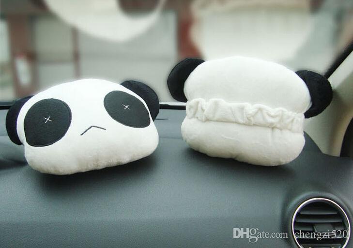 A Nova Fábrica Direto de venda bonito panda de pelúcia encosto de cabeça encosto de cabeça suprimentos suprimentos Jushi = 1 conjunto