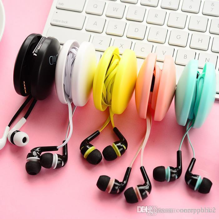 Earbuds cute pattern - cute korean earphones