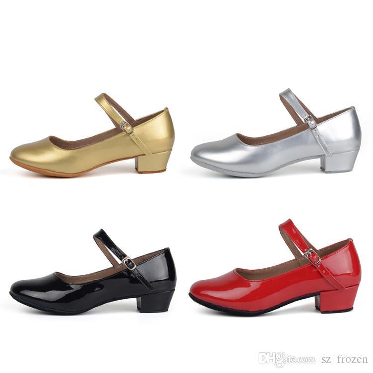 660990e7 Compre Movefun Niños Salón De Baile Tango Zapatos De Baile Latino Para Niñas  Niños Mujeres Zapatos De Baile Negros Tacones Bajos Zapatos De Baile  Cuadrados ...