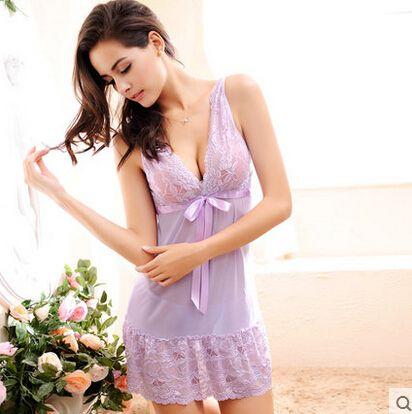 Plus Size S-2XL weight40-67kg Frauen Nightgown Nachtwäsche für Frauen Frauen Nachtwäsche Dessous Dessous Dessous Sets
