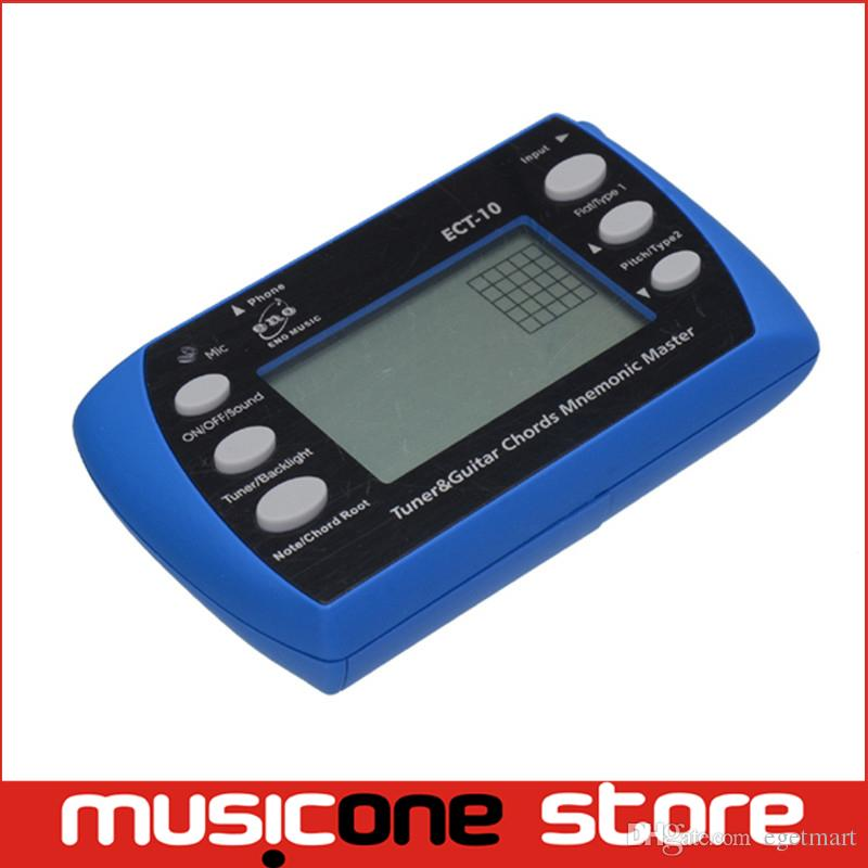 Eno Ect 10 Tuner And Gutiar Chords Mnemonic Master Tuning For Guitar