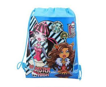 monster high drawstring bags monster high backpacks handbags children's school bags kids' shopping bags Children's Bags