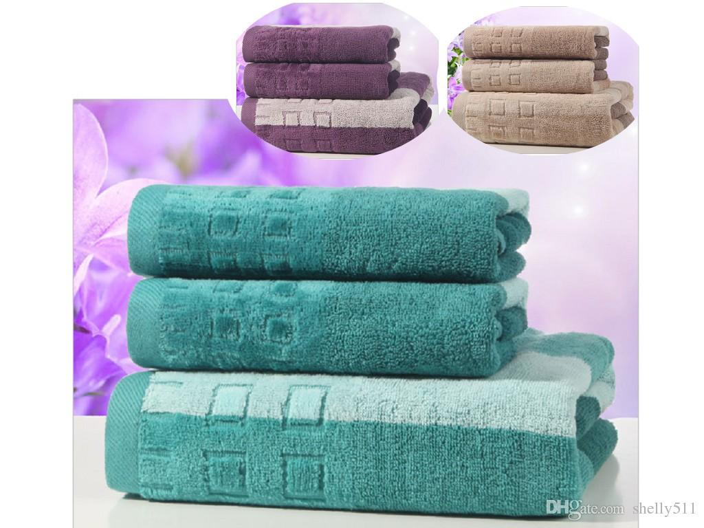 Adult Universal Bath Towel Set Cotton Gift Bath Towel Face - Discount bath towel sets for small bathroom ideas