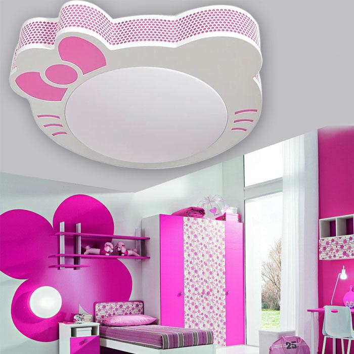 lighting for girls room. discount cartoon kitty cat girl room ceiling led lighting cute childrenu0027s study bedroom lamp pendant glass fixtures from aaa1122333 for girls o