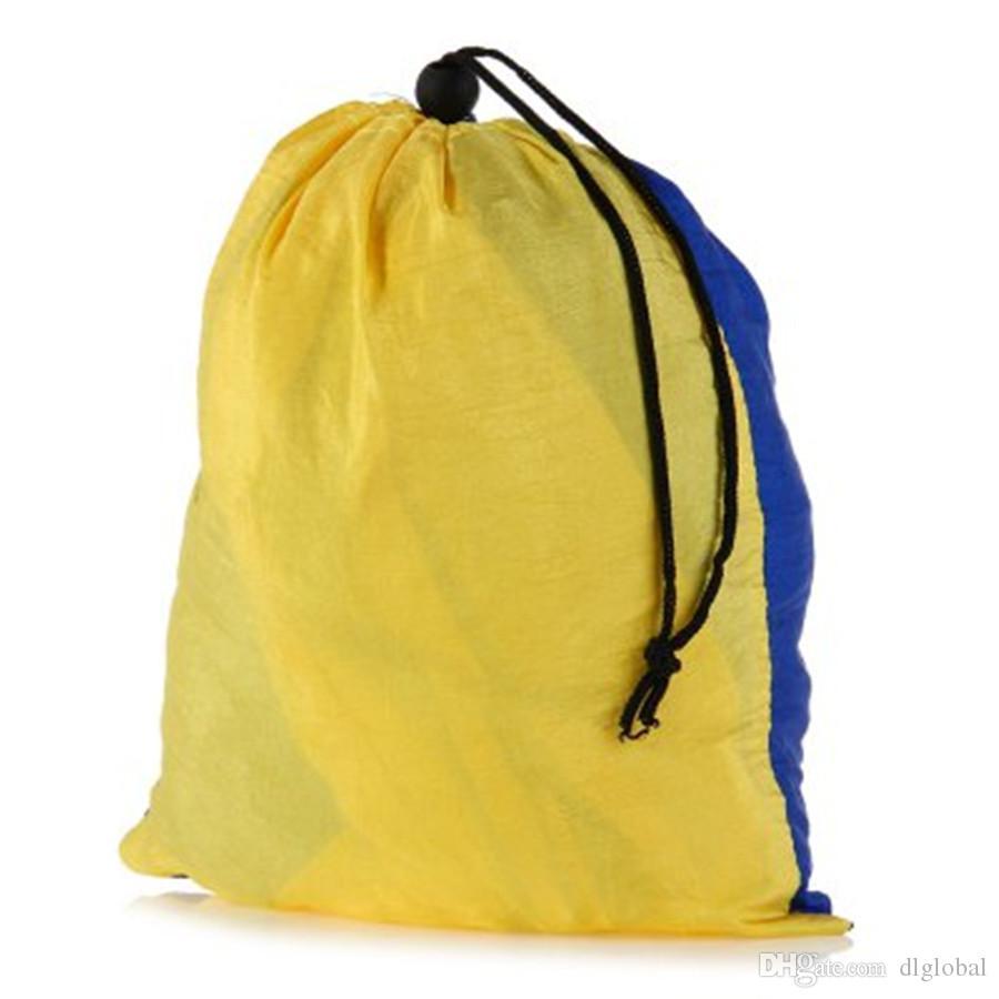Mode Tragbare Fallschirm Nylon Stoff Hängematte für Zwei Personen Liebhaber Familie Outdoor Reisen Camping