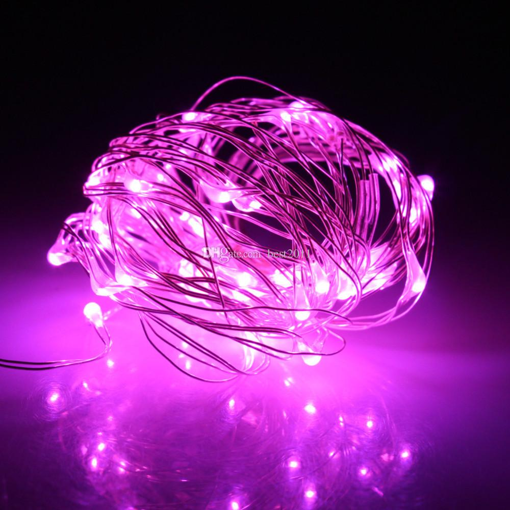 10M 100LED DC 12V Silver Copper Wire Starry Lights String Fairy Light Christmas Lights for Holiday/Party/Wedding/Home Decoration