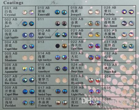 6SS 2MM DMC كريستال HotFix حجر الراين الحديد على الزمرد الإصلاح الساخنة الأحجار SS6