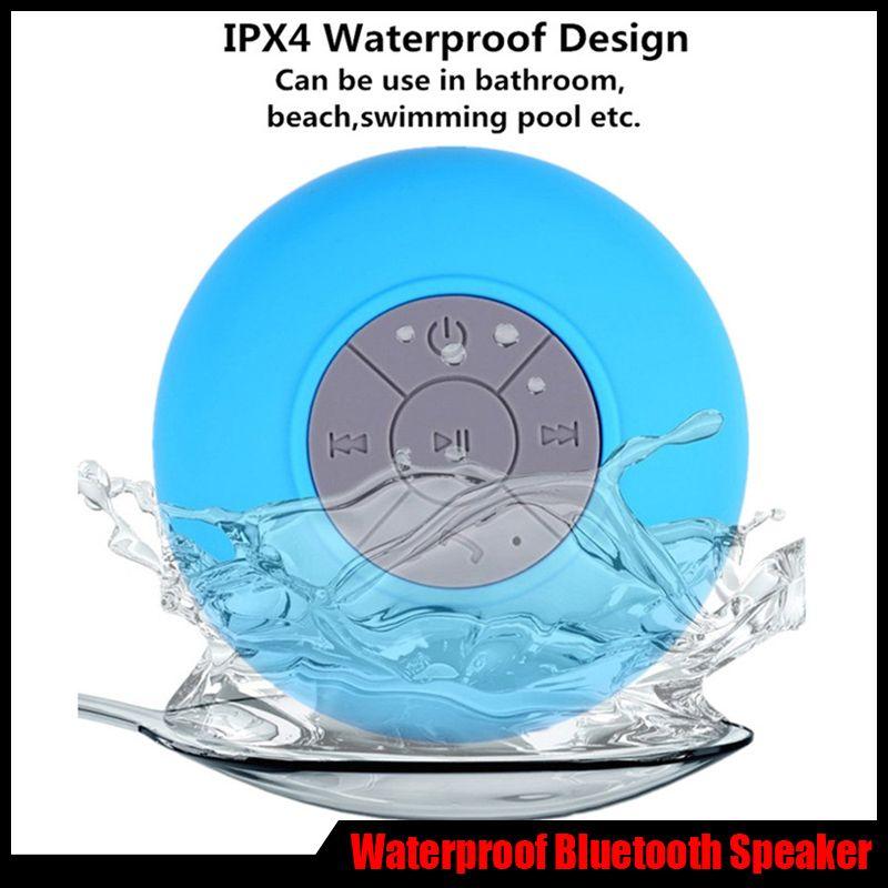By Dhl Bluetooth Speaker Waterproof Shower Wireless Mini Portable ...