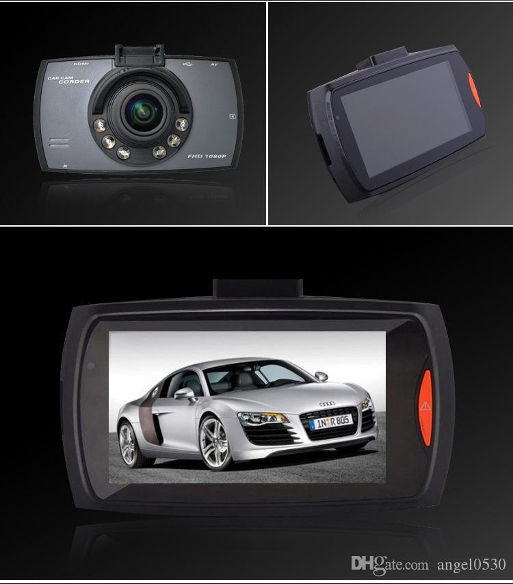 Original G30 HD 1080P Car Camera Car DVR Novatek 96220 Vehicle Traveling Date Recorder Night Vision Tachograph 2.7 inch LCD Car DVRs