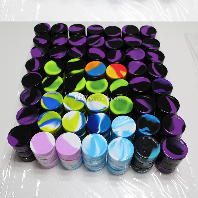 10 tailles de contenants de silicone