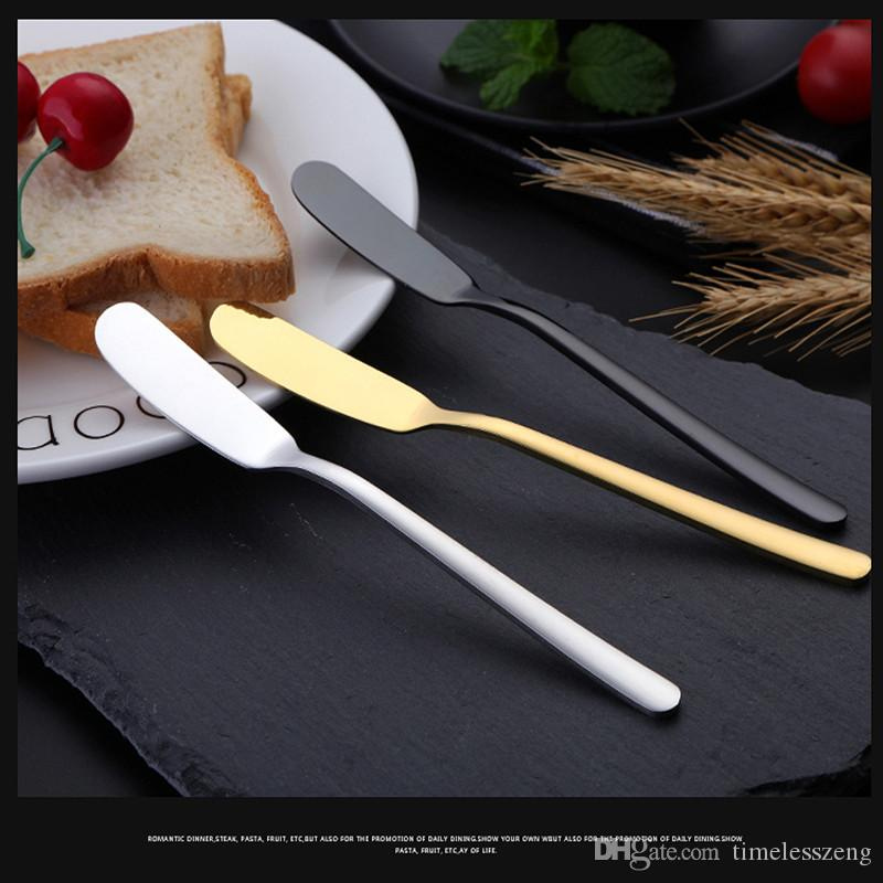 Alle Edelstahl Butter Messer Mehrzweck 304 Edelstahl Butter Messer Jam Kuchen Messer Marmelade Butter Kuchen Spachtel Home Küche liefert