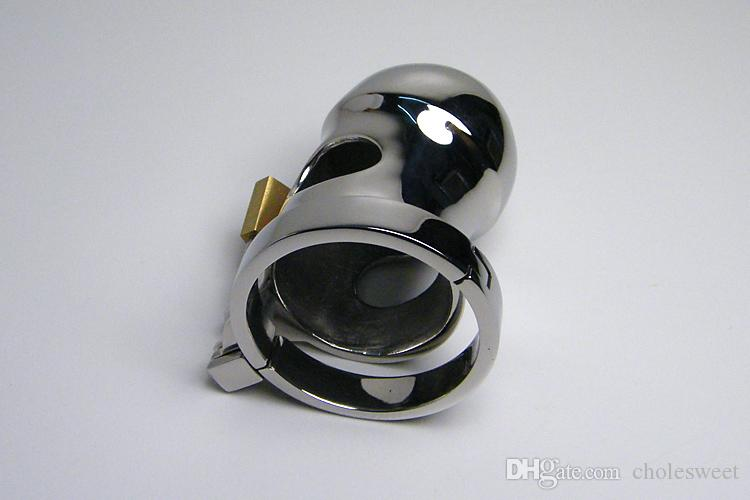 High quality Chastity belt Male Chastity Device Cock Cage Metal Small Rings, steel chastity cage Men Chastity Belt