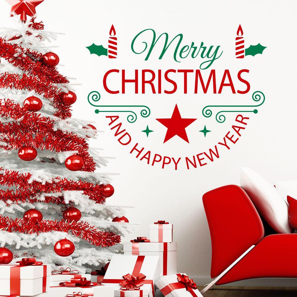 Großhandel Frohe Weihnachten Zitate Frohes Neues Jahr Kunst ...
