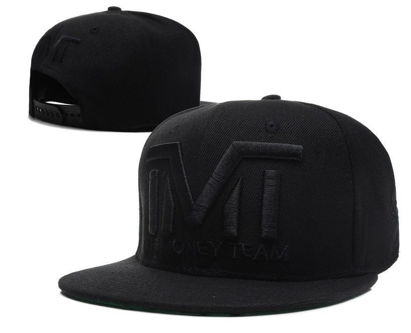 TMT Hats The Money Team Snapback Hat All Black Top Quality Mens Classic  Baseballcaps Good Quality ! Baseball Caps Cheap Baseball Caps Freeshipping TMT  Hats ... c2b159f7b39