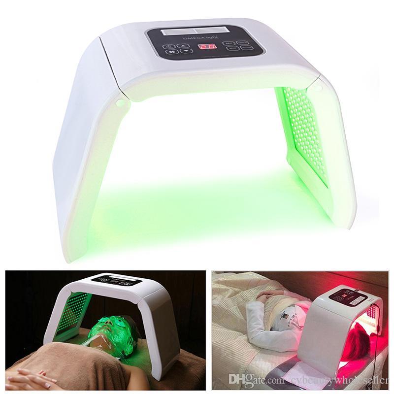 Новый 7 Цвет светодиодный Фотон терапии машина светодиодные маска для лица PDT свет для тела кожи красоты машина угри лечить салон красоты Оборудование