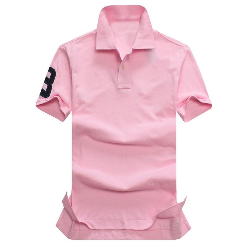 2017 yeni yüksek kalite Yaz Sıcak Satış Polo Gömlek ABD Amerikan Bayrağı marka Polos Erkekler Kısa Kollu Spor Polo 309 # Adam C ...