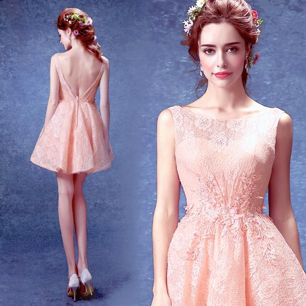 Peach colored cocktail dresses – Dresses dragon blog