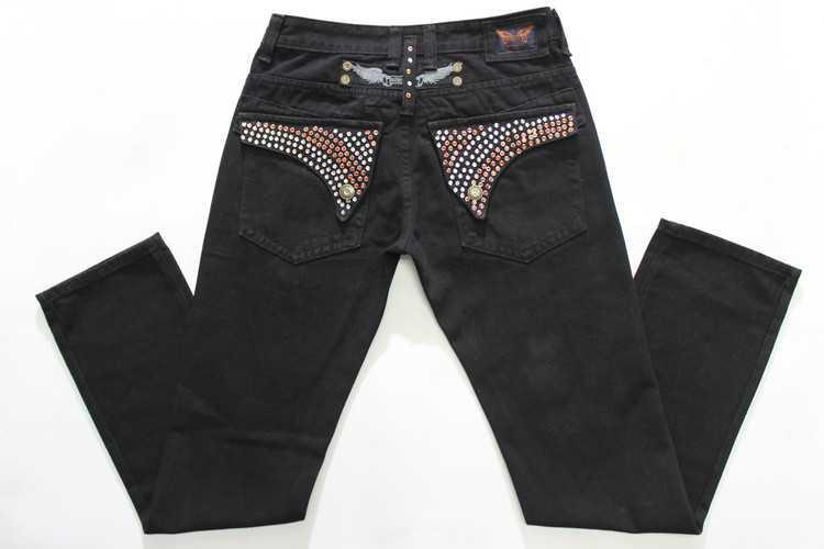 Robin Düz Kot Klasik Kot Pantolon Biker Jeans Erkekler Için Yüksek Kaliteli Motosiklet Kot Kızarmış Kar Rhinestone Dekorasyon Kanatları Jean
