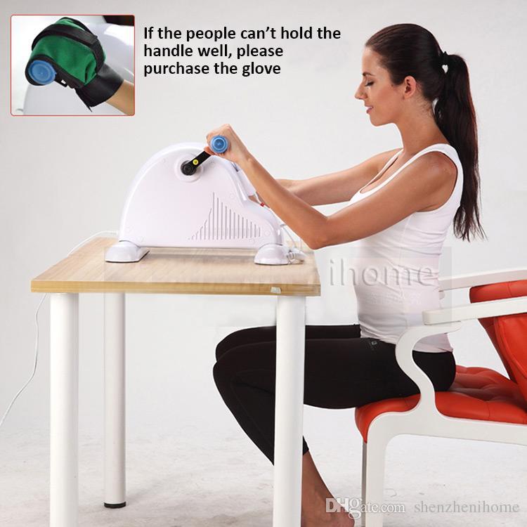 理学療法リハビリテーションエクササイズジム製品家庭用電気アッパーと下肢エクササイズミニスピニングバイクIHMS002