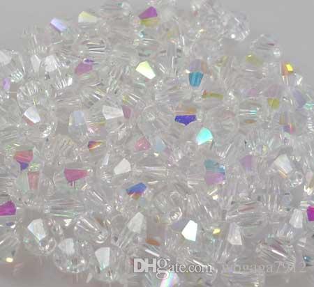 1000 шт. / лот Бесплатная доставка зеленый AB 4 мм блеск 5301 # кристаллы бусины новый! A21