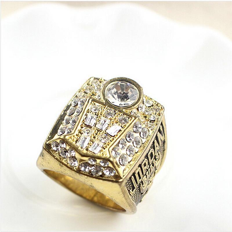 2018 1998 Bulls Basketball World Championship Ring Finger Ring