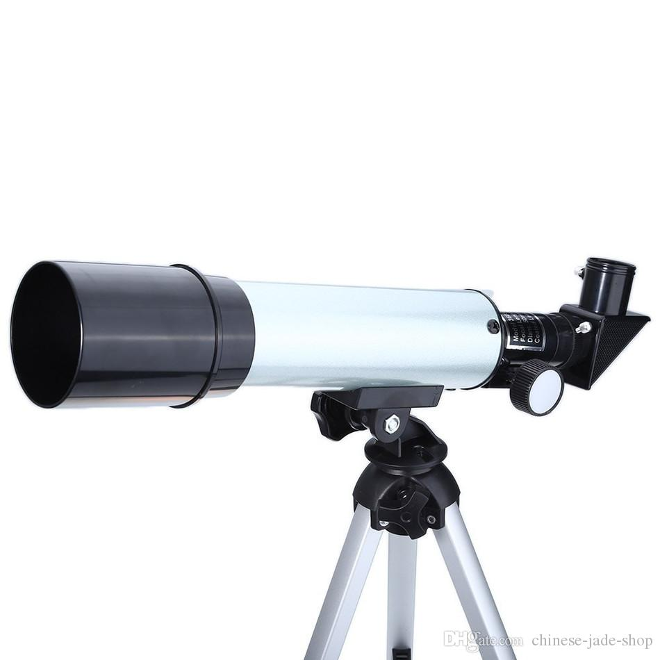 F36050 360/50mm Outdoor Monocular Astronomical Telescopes Spotting Scope Refractive with Portable Tripod