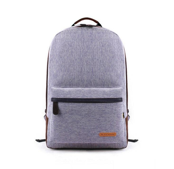 2015 New College Style Women Fashion Linen Backpack Laptop Bag ...